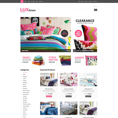 Home Decor Responsive WooCommerce Theme (WooCommerce theme for home decor and interior design stores) Item Picture