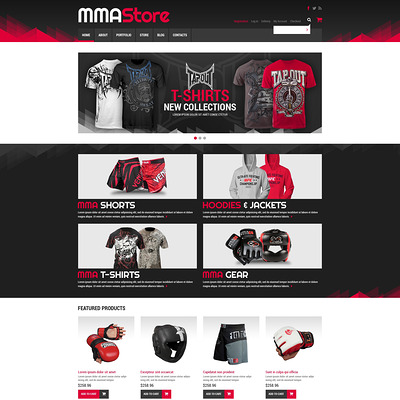 Sport Store WooCommerce Theme (WooCommerce theme for sports, gym, and fitness stores) Item Picture