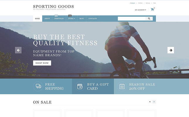 best woocommerce themes sports gym fitness stores feature