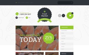 best opencart themes selling spices food feature