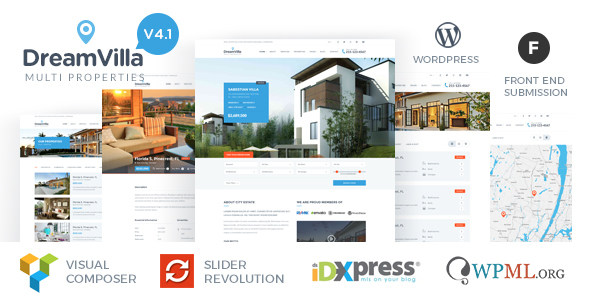 DreamVilla (real-estate WordPress theme) Item Picture