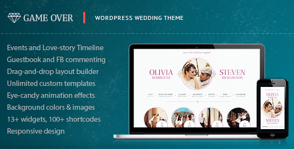 Game Over (WordPress theme) Item Picture