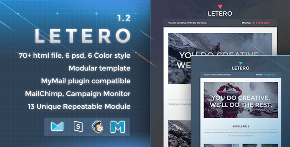 Letero (email template) Item Picture
