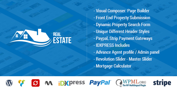 Real Estate WordPress (real-estate WordPress theme) Item Picture