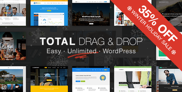 Total (stunning WordPress theme) Item Picture