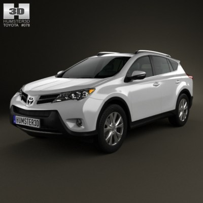 Toyota RAV4 2013 (3D model of a car, vehicle, or automobile) Item Picture