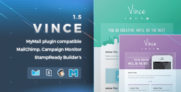 Vince  (email template) Item Picture