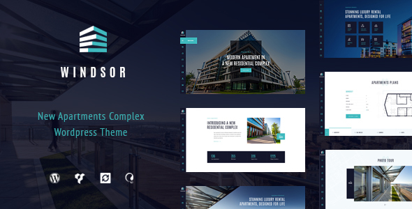 Windsor (real-estate WordPress theme) Item Picture