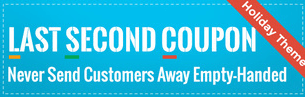 Last Second Coupon by Hextom shopify apps