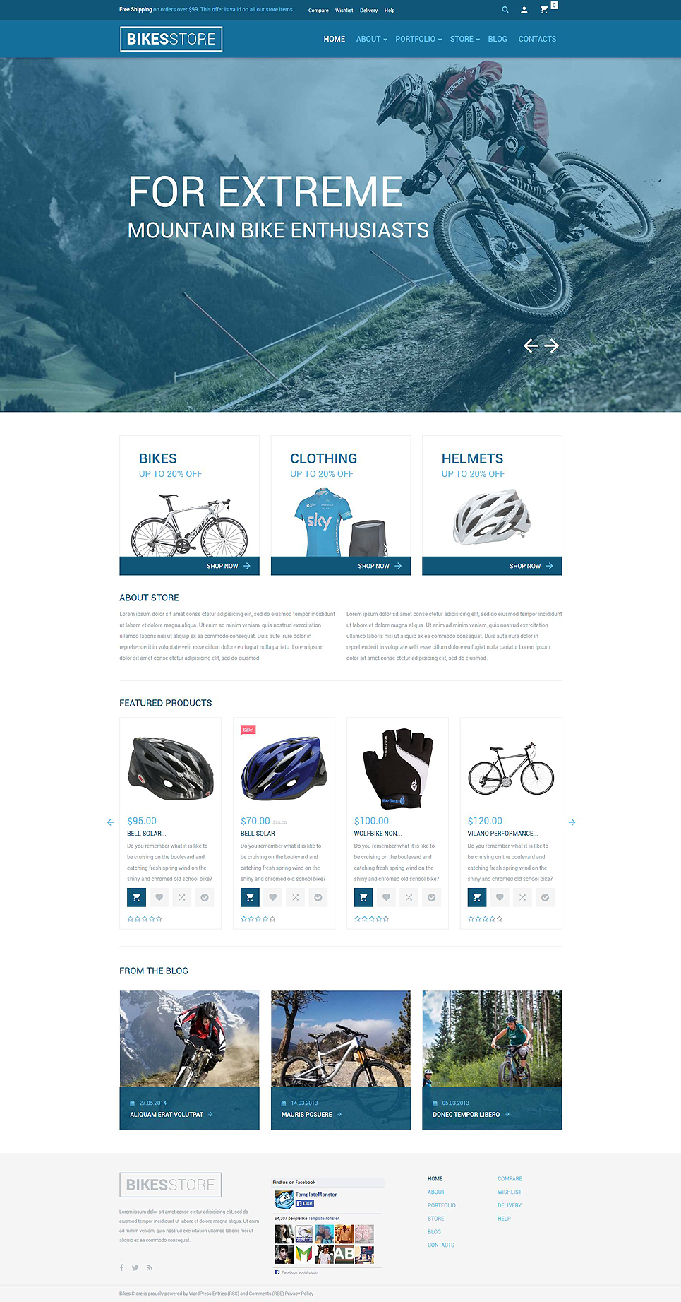 Bikes Store (template for WooCommerce) Item Picture