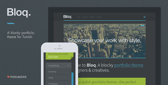 Bloq (Tumblr theme) Item Picture