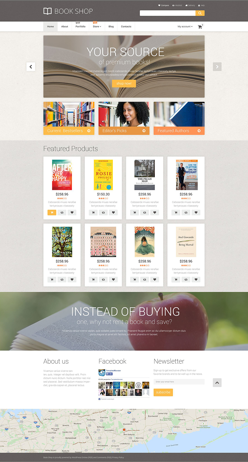 Book Store (template for WooCommerce) Item Picture