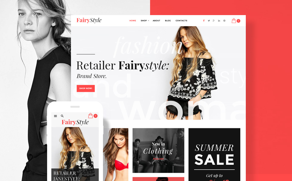 Fairy Style (template for WooCommerce) Item Picture