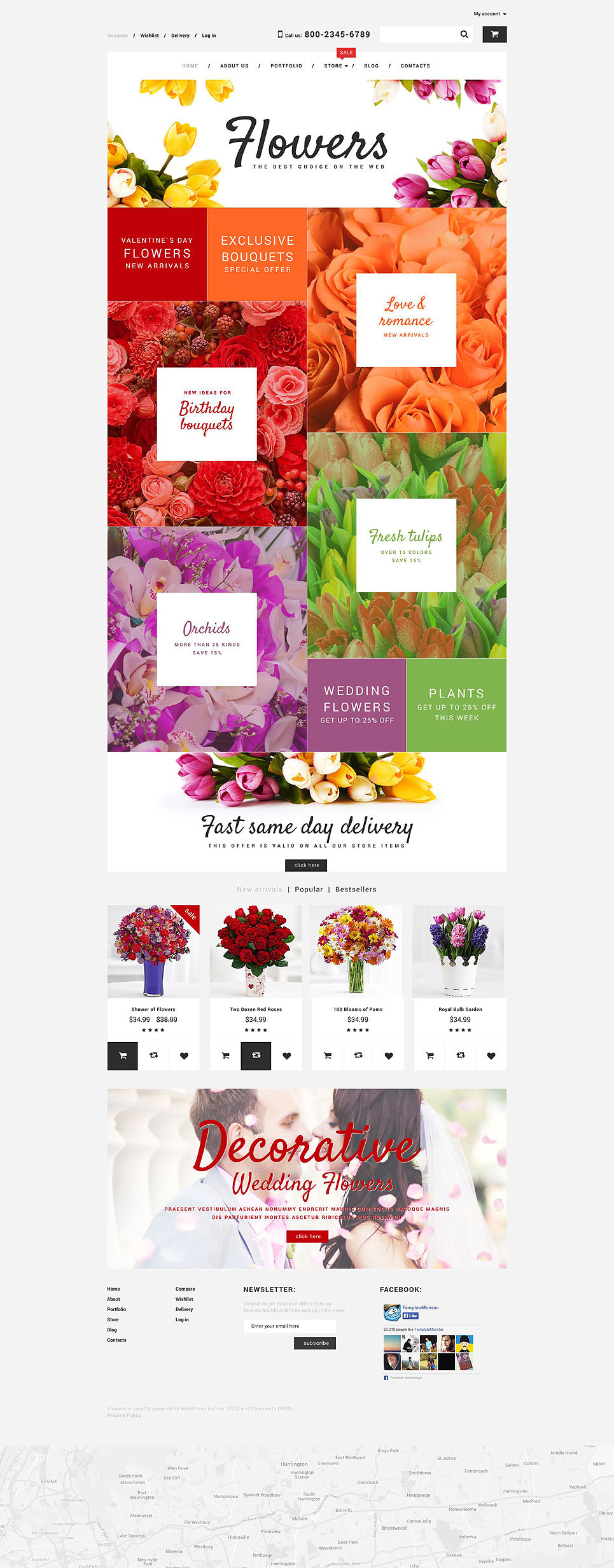 Flower Shop (template for WooCommerce) Item Picture