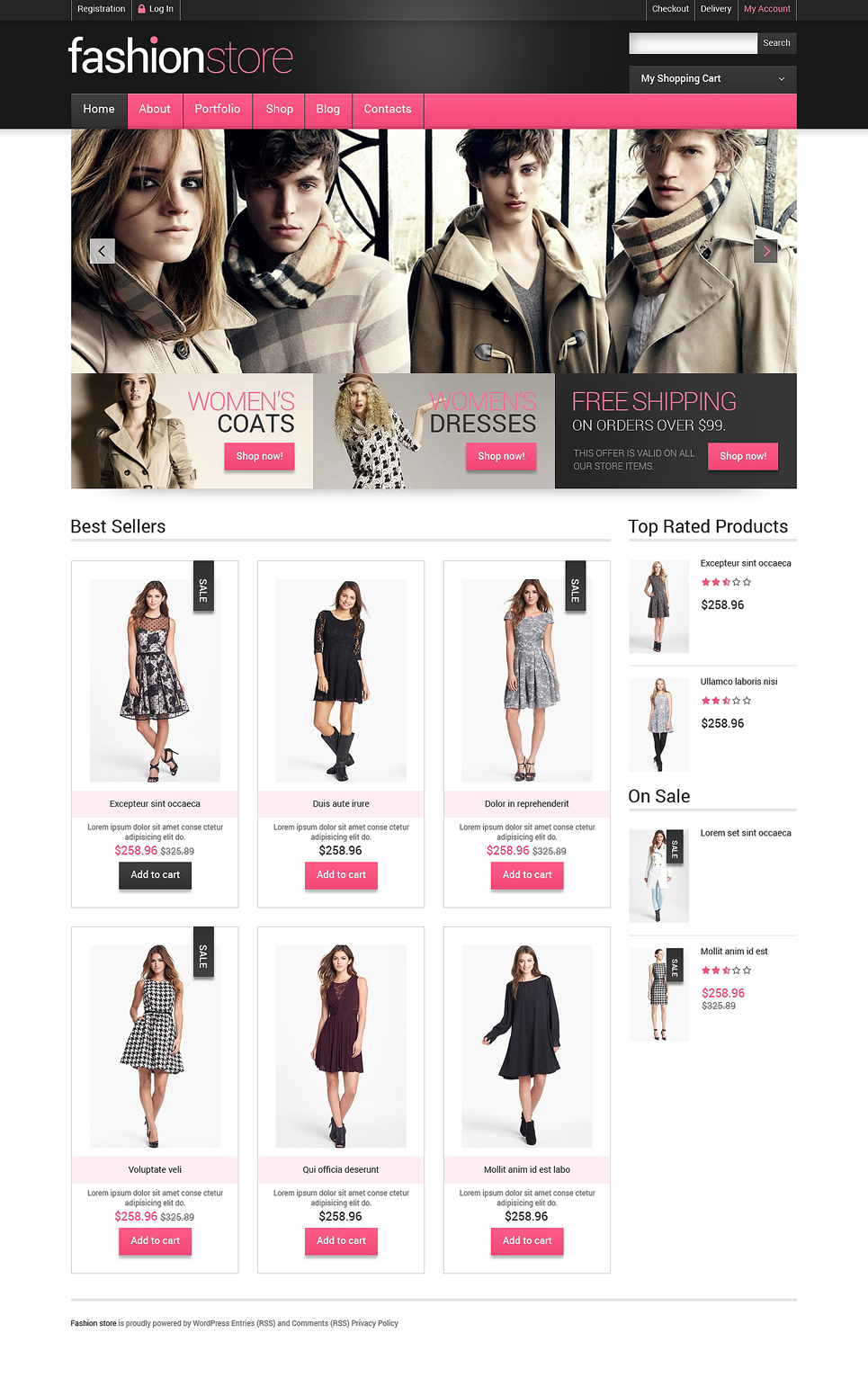 Getting Clothes Online WooCommerce Theme