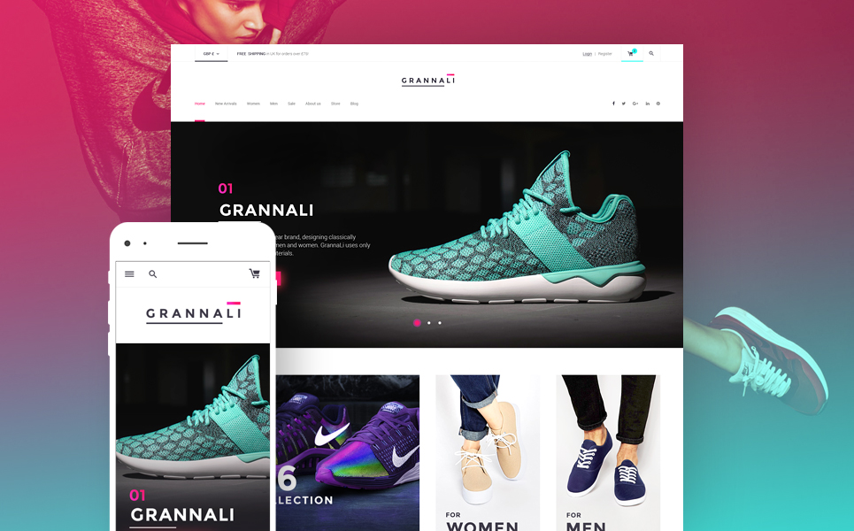 GrannaLi (WordPress theme for clothing or fashion stores) Item Picture