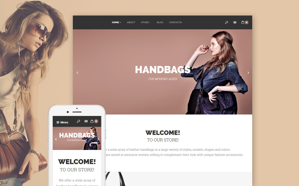 Handbags (template for WooCommerce) Item Picture