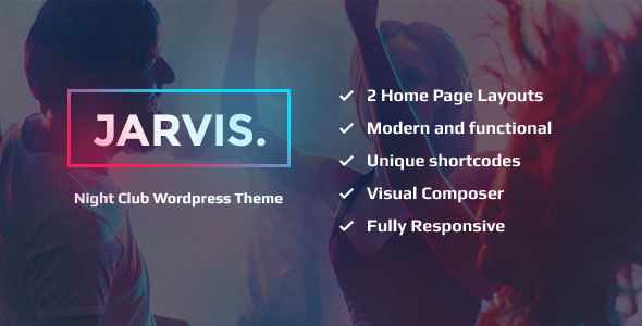 Jarvis (WordPress theme) Item Picture