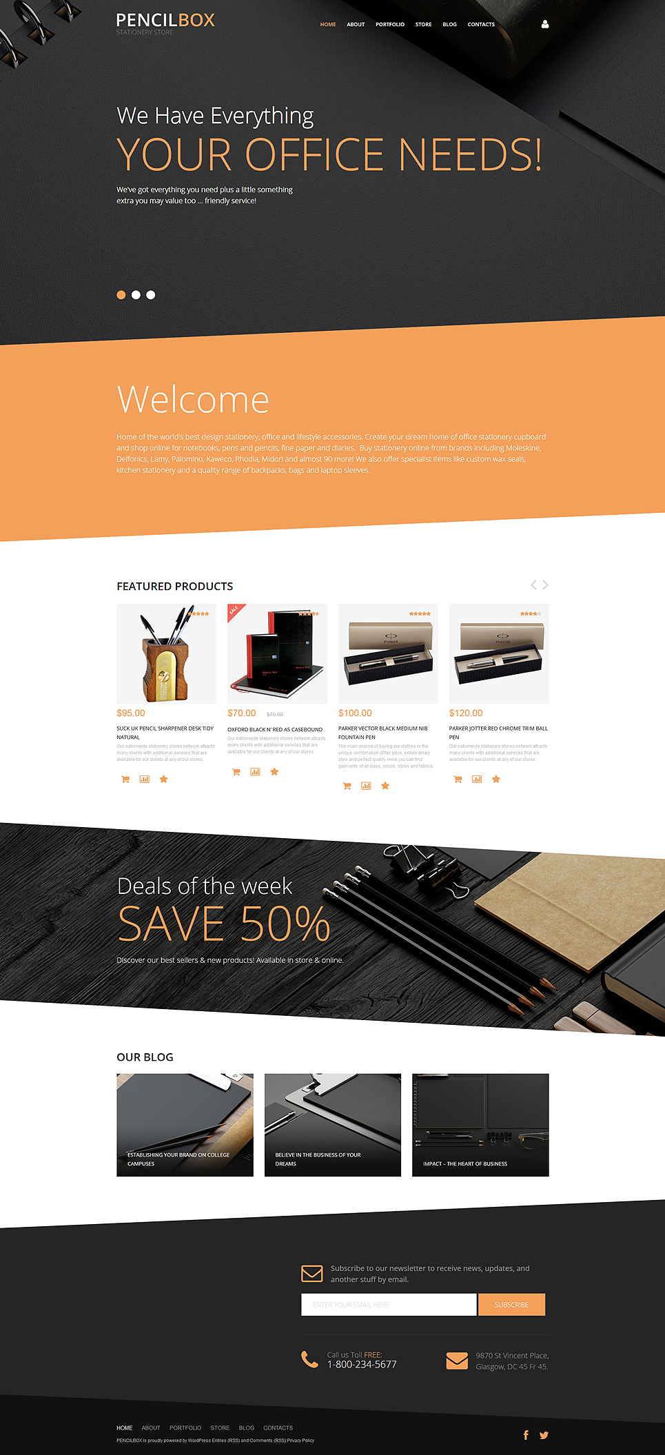 PencilBox (template for WooCommerce) Item Picture