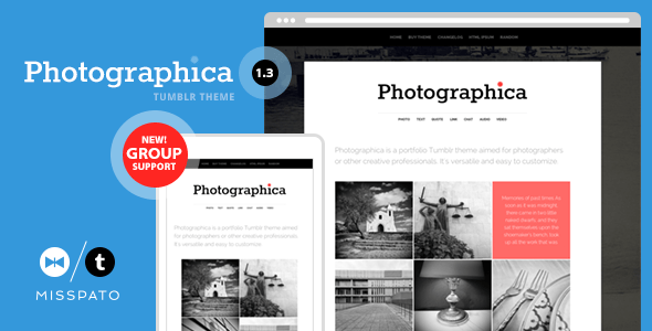Photographica (Tumblr theme) Item Picture