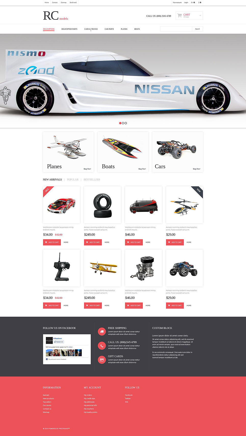 Radio Control Hobby Shop (template for PrestaShop) Item Picture