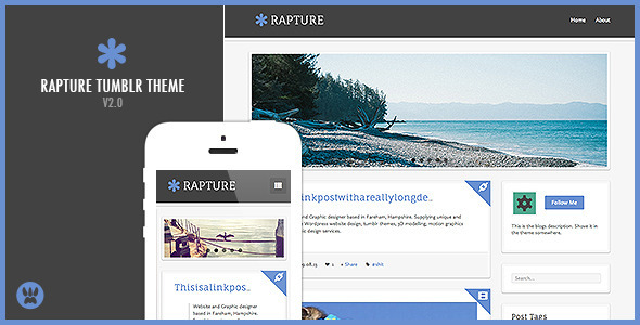 Rapture (Tumblr theme) Item Picture