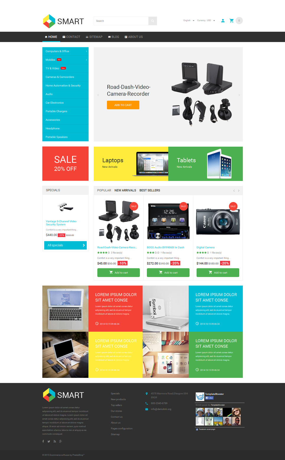 Smart Stuff Store (theme for PrestaShop) Item Picture