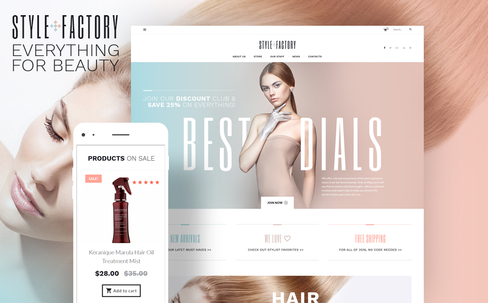 Style Factory (template for WooCommerce) Item Picture
