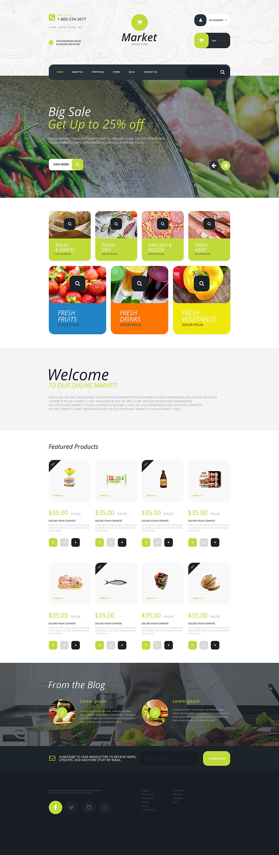 Supermarket (template for WooCommerce) Item Picture