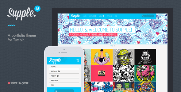 Supple (Tumblr theme) Item Picture