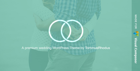 Union (free wedding invitation WordPress theme) Item Picture