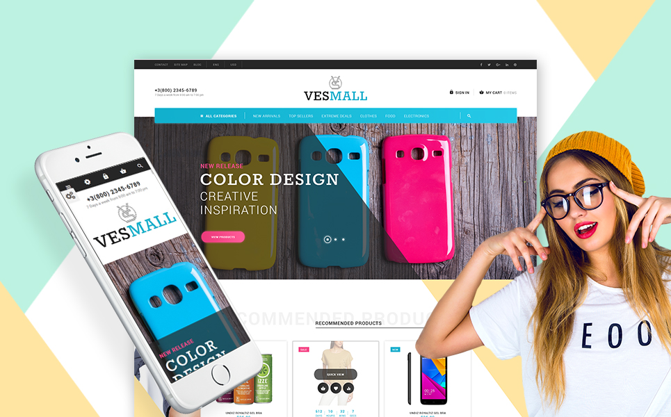 Vesmall (template for PrestaShop) Item Picture