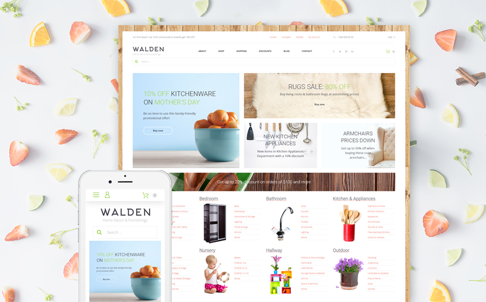 Walden (template for WooCommerce) Item Picture