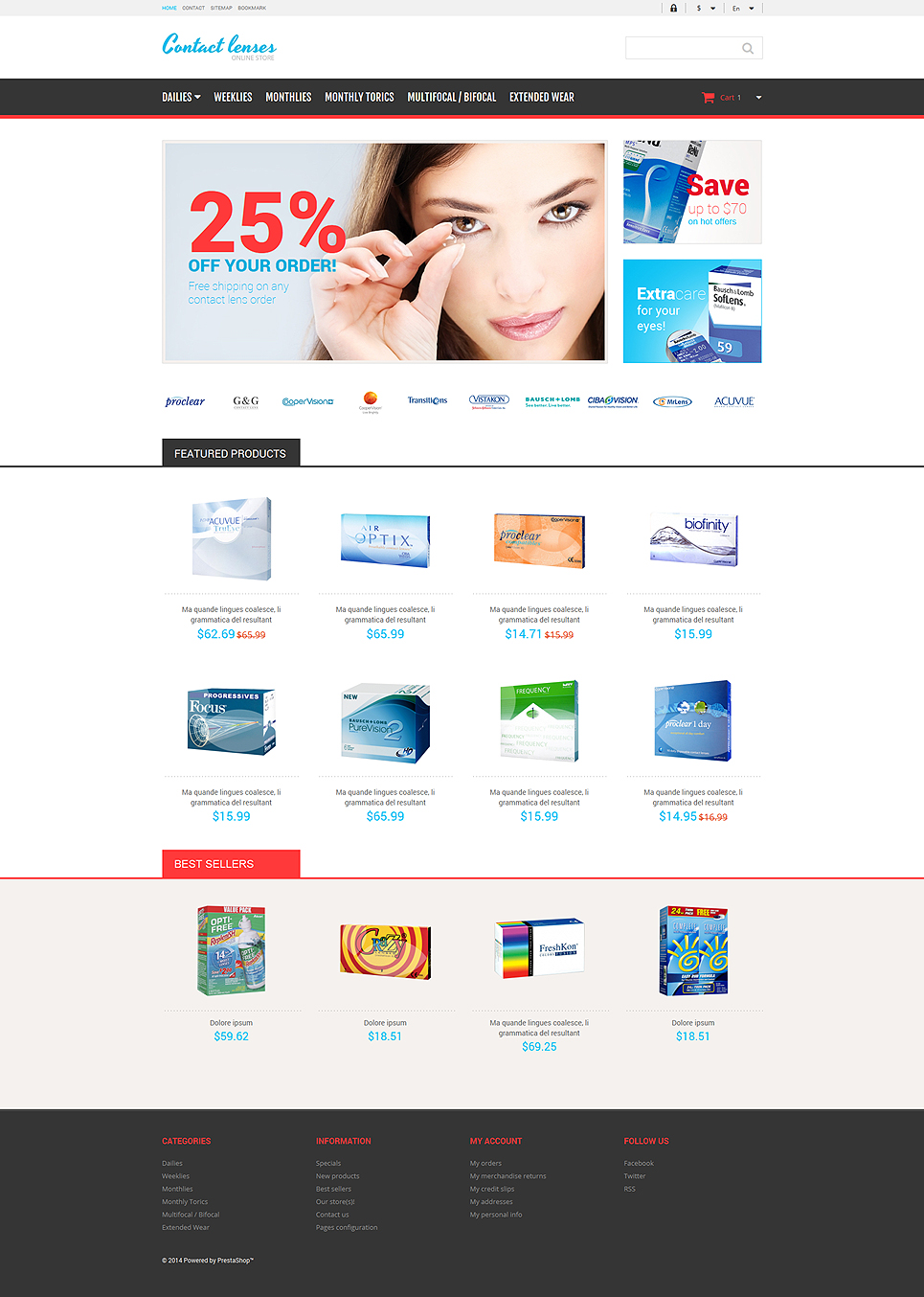Contact Lenses Supplier