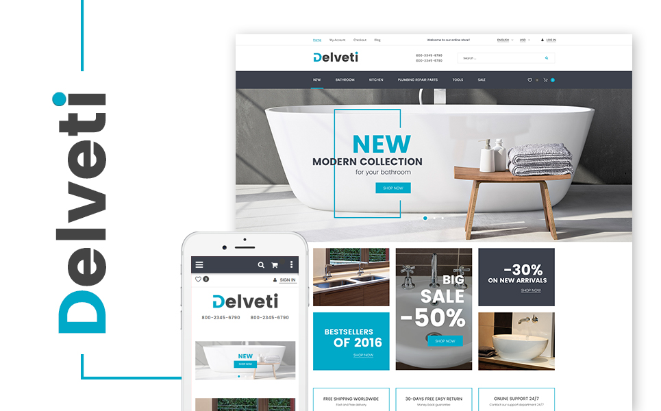 Delveti (theme for Magento ) Item Picture