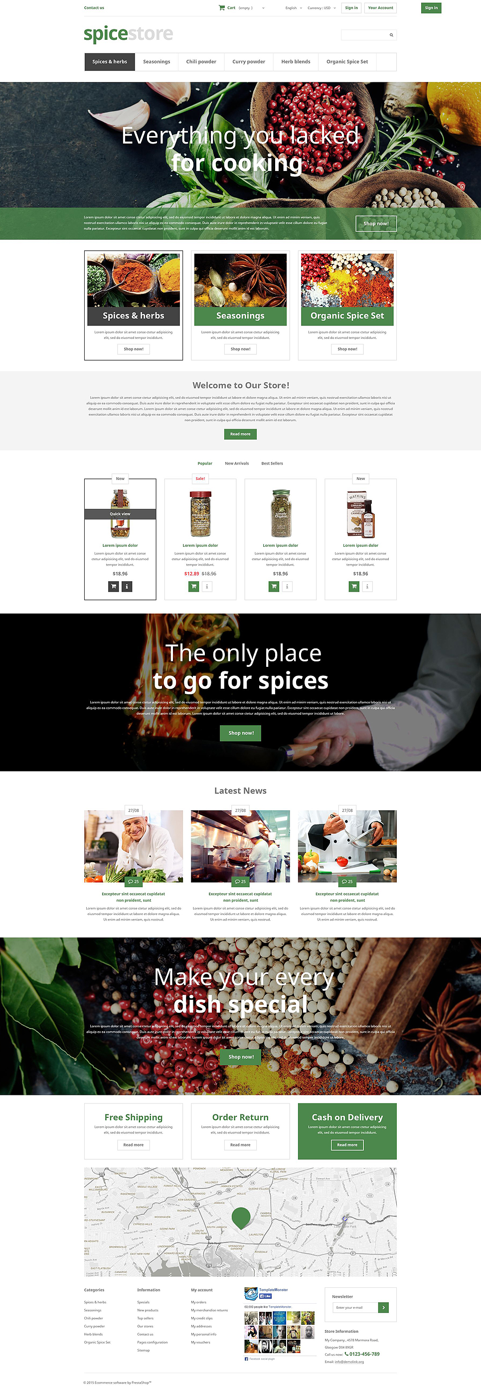 Grocery Shop (template for PrestaShop) Item Picture
