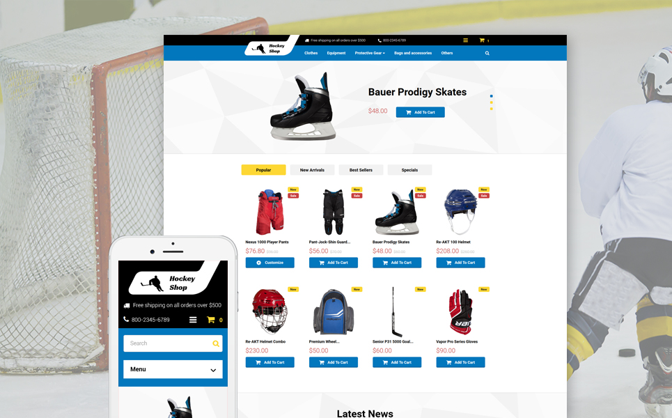 Ice Hockey Shop