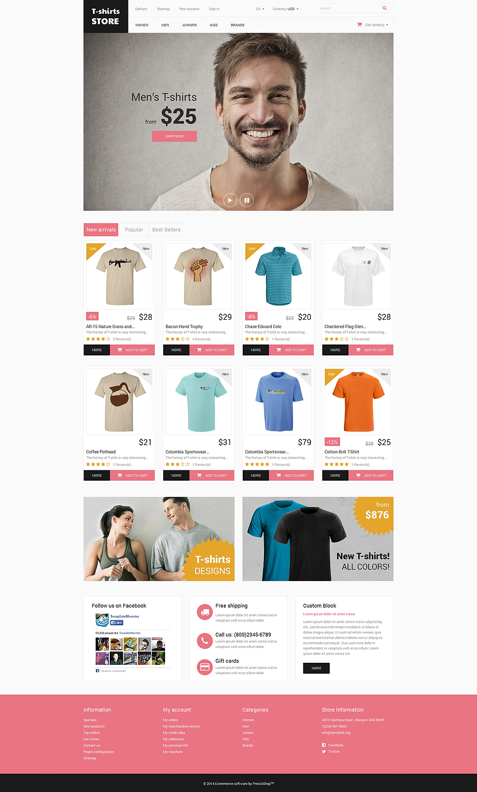 Home and Office Outfit (theme for PrestaShop) Item Picture
