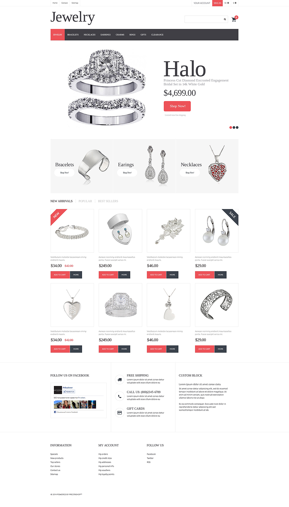 Jewelry (PrestaShop theme) Item Picture