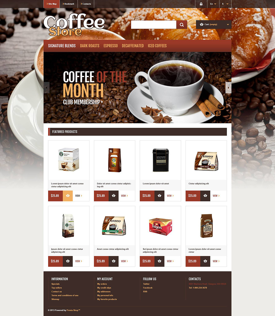 Coffee Store