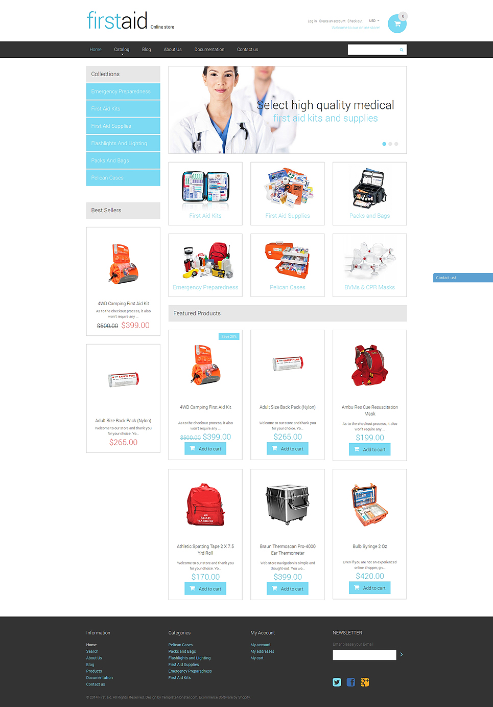 First Aid (Shopify theme) Item Picture