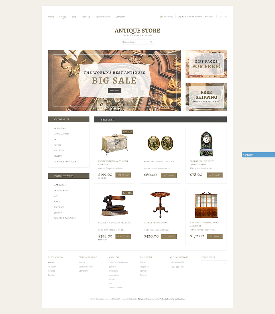 Antique Store (Shopify theme) Item Picture