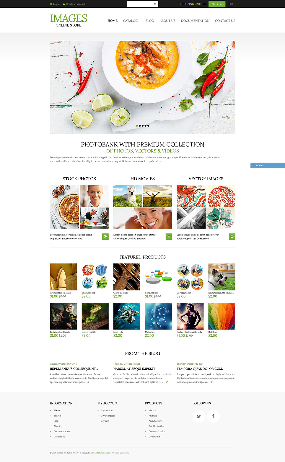 Art Photography (Shopify theme for ecommerce websites) Item Picture