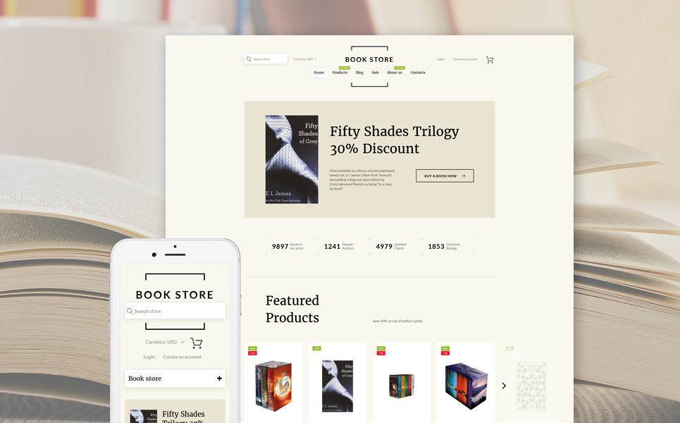Book Shop (Shopify theme) Item Picture