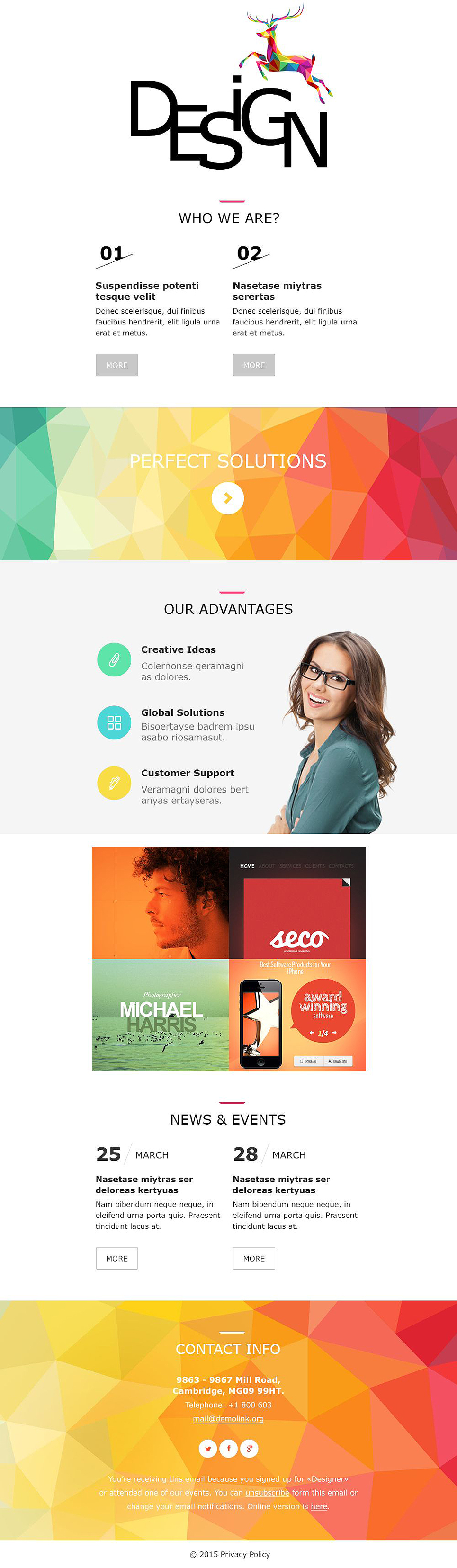 Design Studio (responsive newsletter theme) Item Picture