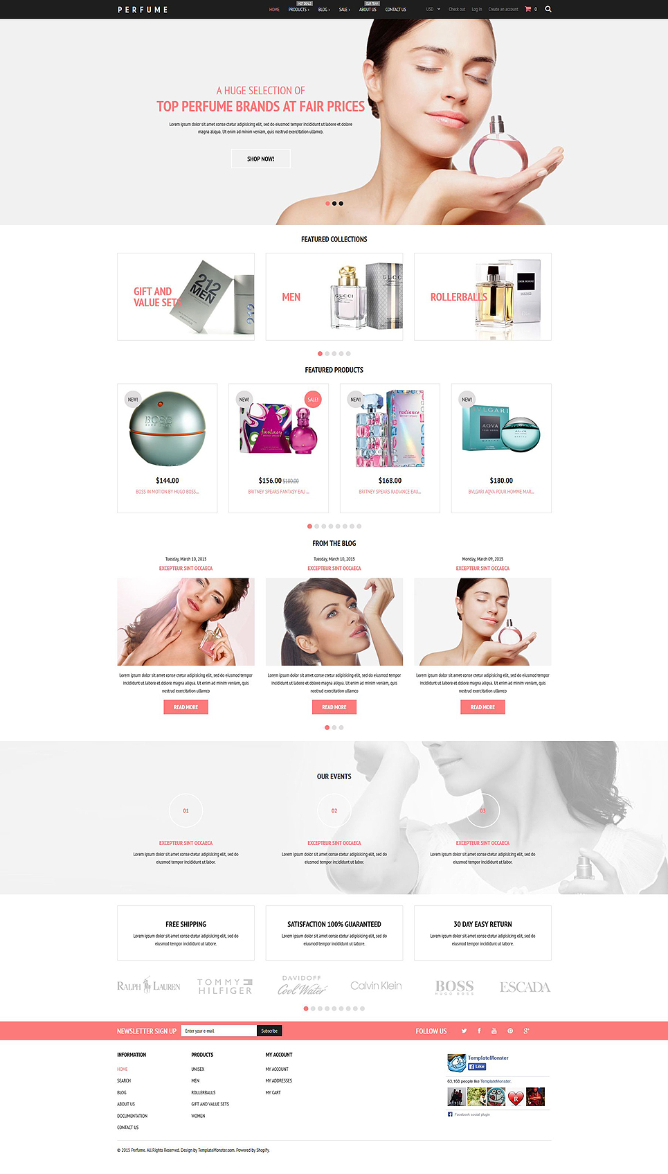 Fragrance Store (ecommerce Shopify theme) Item Picture