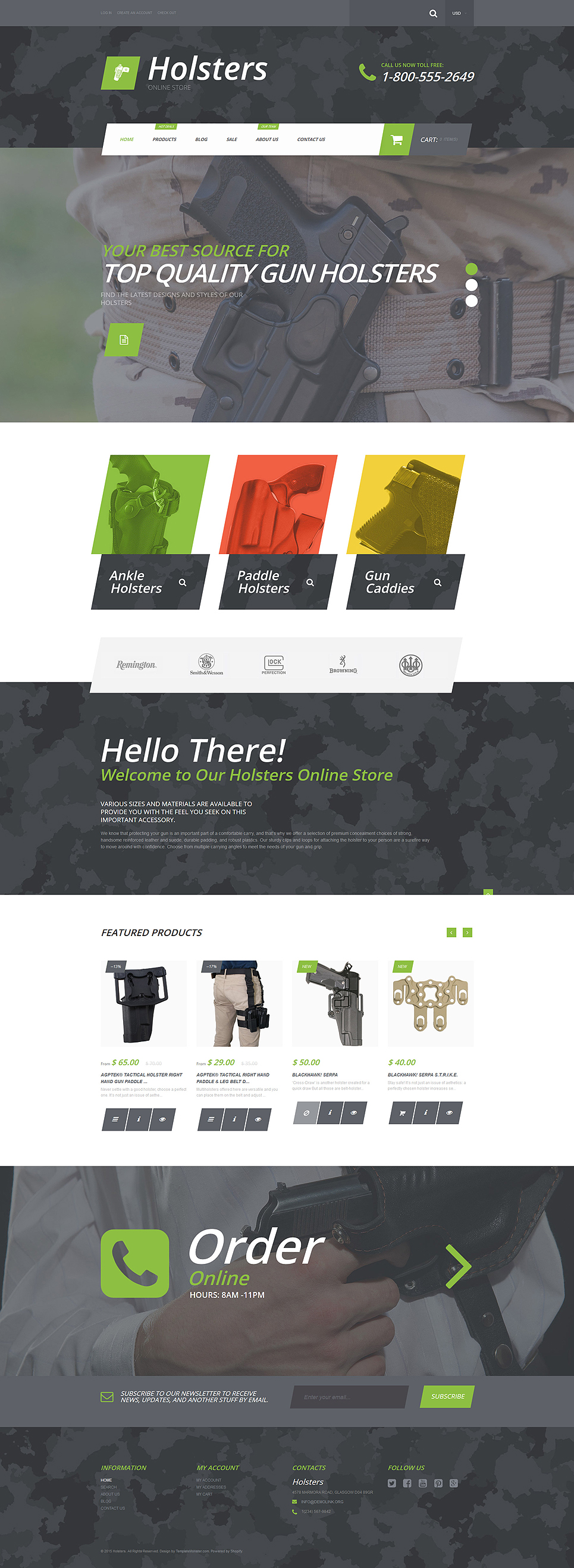 Holsternation (Shopify ecommerce theme) Item Picture