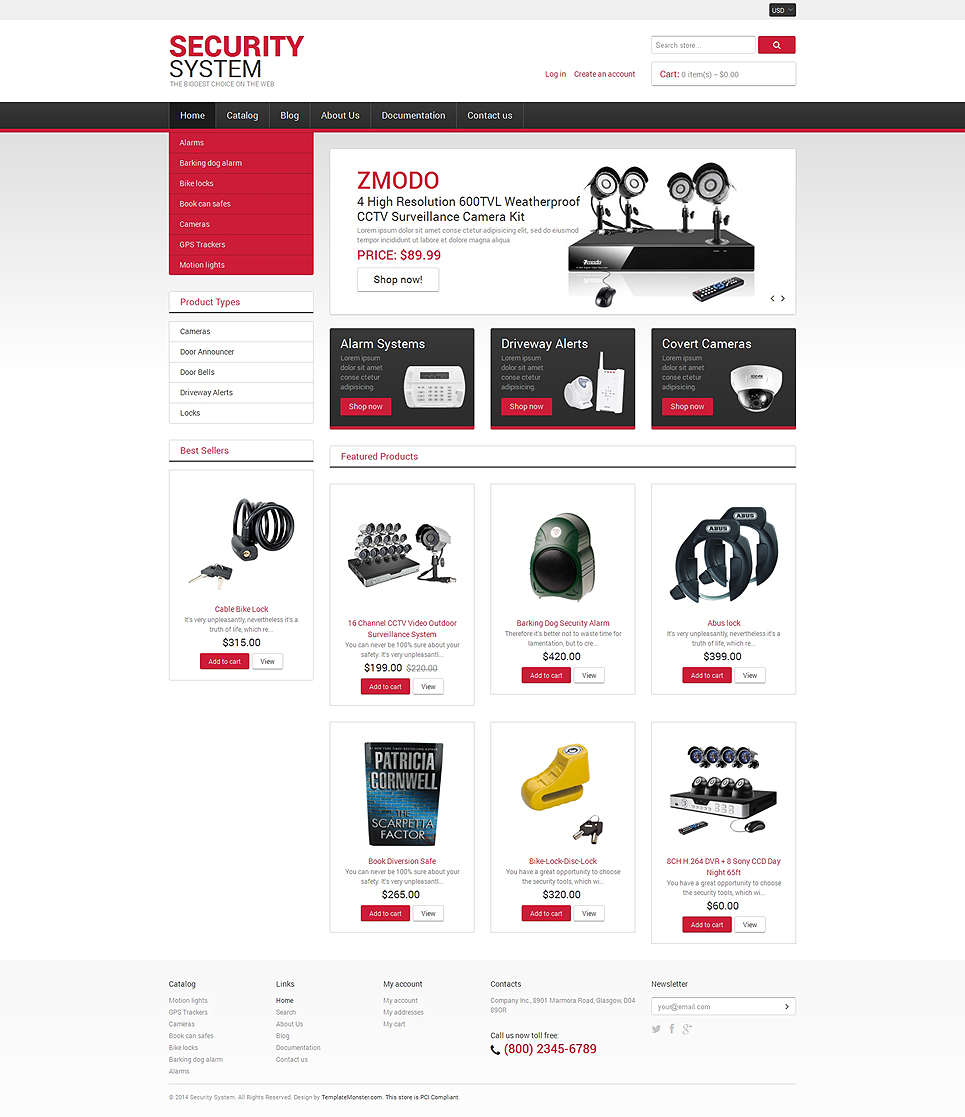 Locksmith (Shopify theme for ecommerce sites) Item Picture