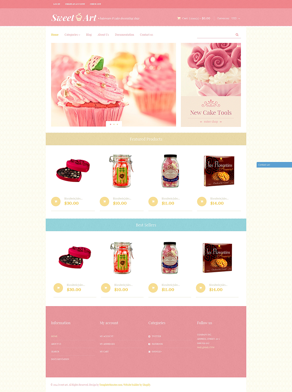 SweetArt (ecommerce theme) Item Picture