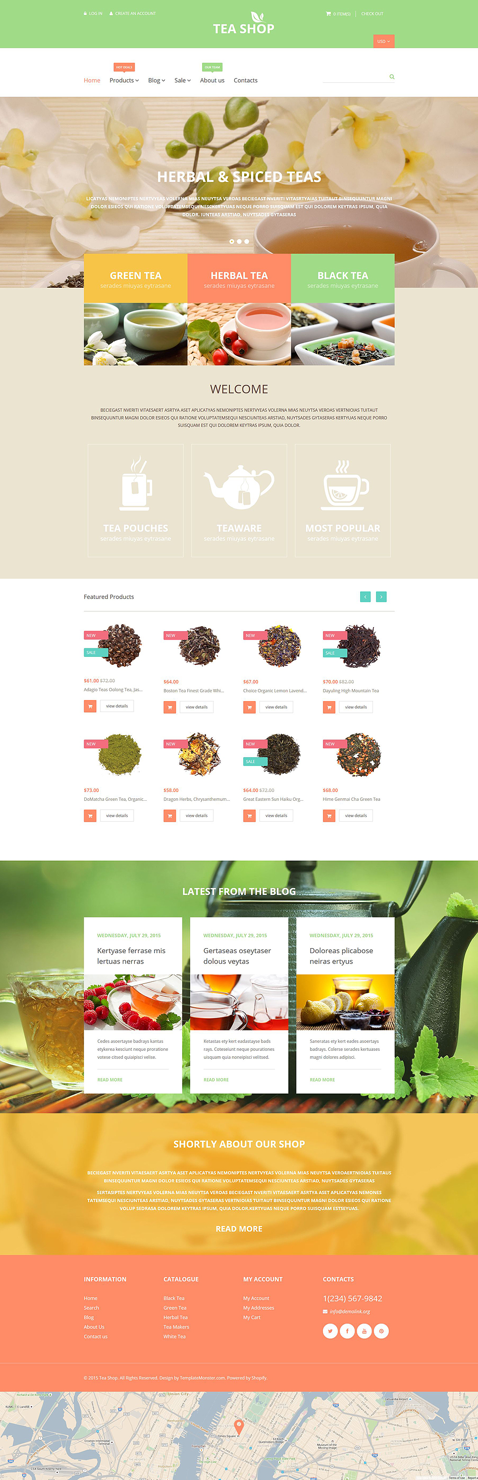 Tea Shop (Shopify theme) Item Picture